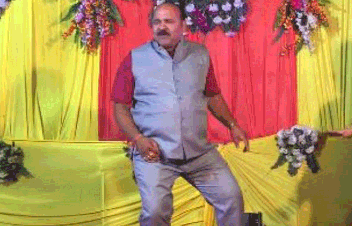 Dancing uncle