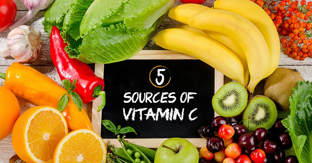 5 sources of Vitamin C