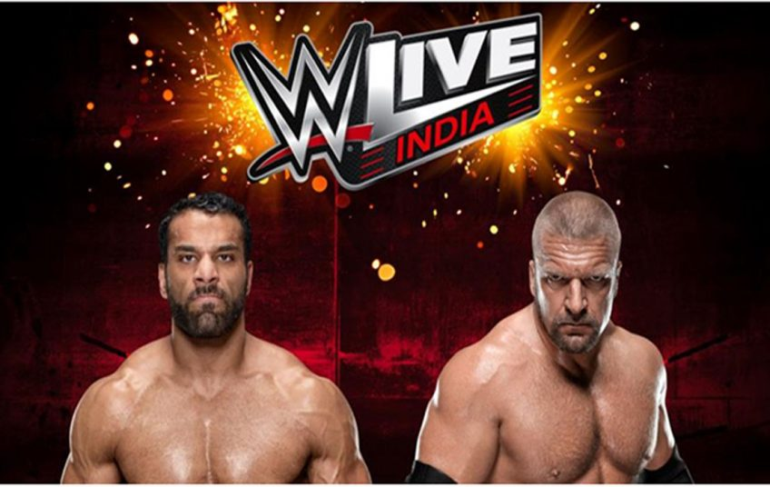 Triple H gave open warning to Jinder Mahal to teach him a lesson in front of his people