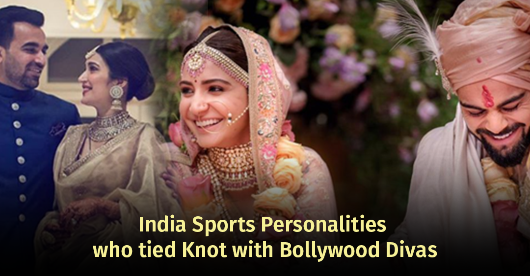 India Sports Personalities who tied Knot with Bollywood Divas