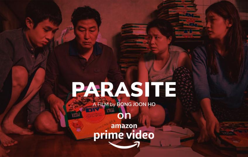 Parasite, a South Korean film
